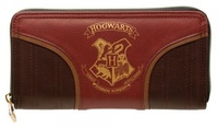 Harry Potter: Hogwarts Gold Crest - Zip Up Wallet