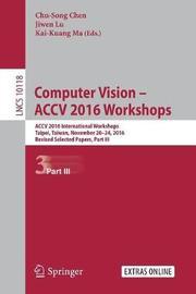 Computer Vision - ACCV 2016 Workshops image