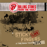 From The Vaults: Sticky Fingers – Live At The Fonda Theatre 2015 (DVD+3LP) by The Rolling Stones