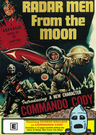 Radar Men from The Moon on DVD