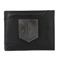 Justice League Black Bi-Fold Wallet