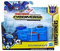 Transfomers: Cyberverse - 1-Step Changer - Soundwave