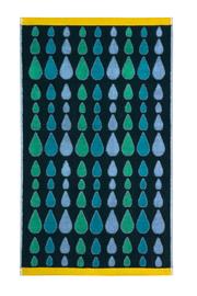 Donna Wilson: Rain Drops Multi Green Hand Towel
