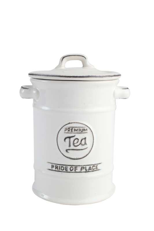 T&G Pride of Place Tea Jar (White)