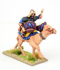 SAGA Age of Crusades - Mongol Wardrummer on Camel