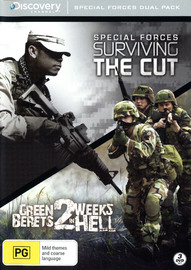 Special Forces Dual Pack: Surviving The Cut Season 1 & Green Berets 2 Weeks in Hell on DVD