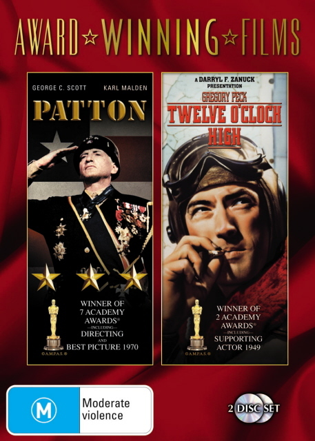 Patton / Twelve O'Clock High (Award Winning Films) (2 Disc Set) on DVD