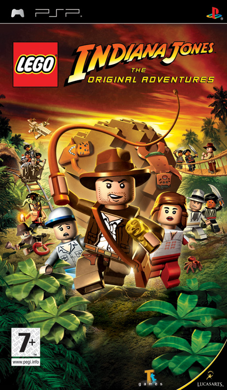 LEGO Indiana Jones: The Original Adventures for PSP