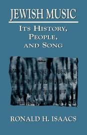 Jewish Music by Ronald H. Isaacs image