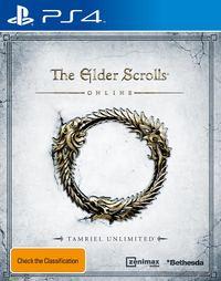 The Elder Scrolls: Online Tamriel Unlimited for PS4