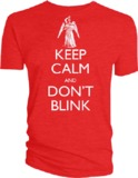 Doctor Who Keep Calm and Don't Blink T-Shirt (M)