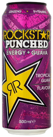 RockStar Punched Guava Energy Drink 500ml (12 Pack)
