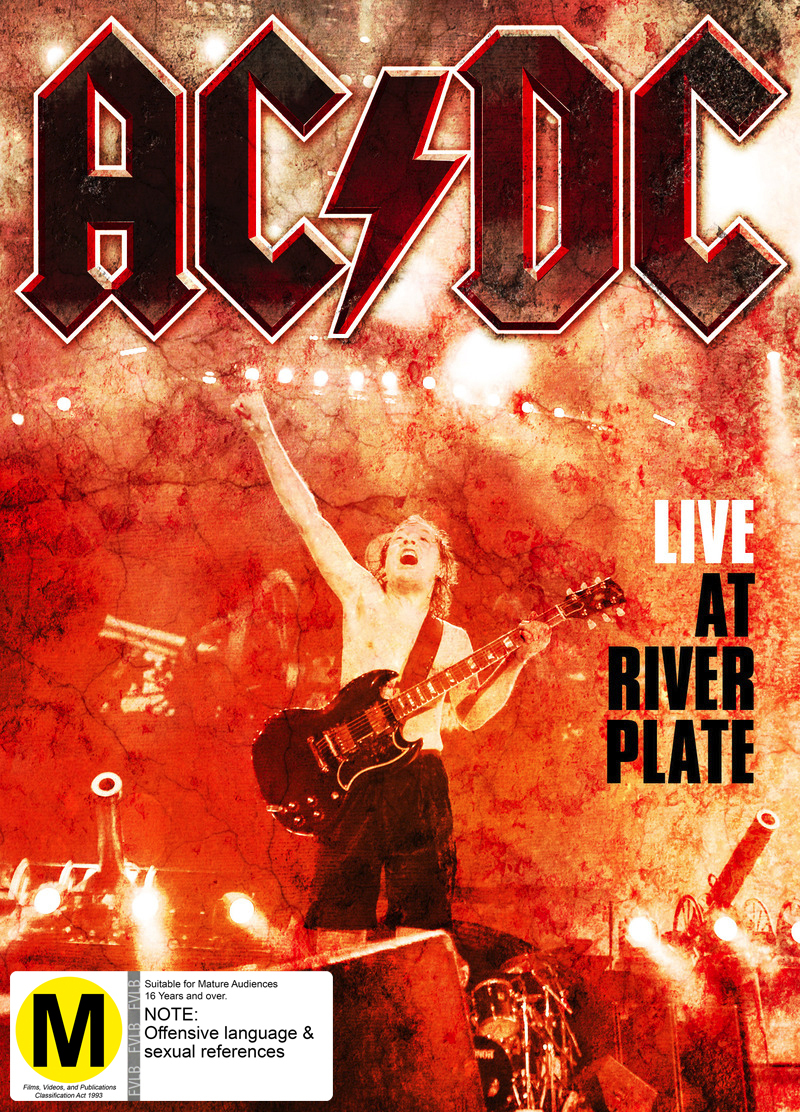 AC/DC - Live At River Plate DVD image