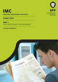 IMC Unit 1 Syllabus Version 12: Study Text by BPP Learning Media