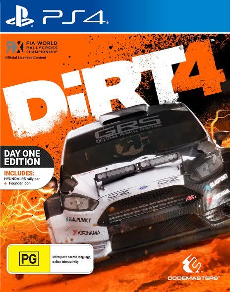 DiRT 4 Day One Edition for PS4