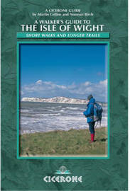 A Walkers Guide to the Isle of Wight by Martin Collins image
