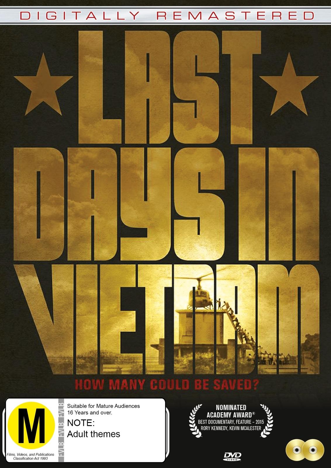 Last Days In Vietnam on DVD image