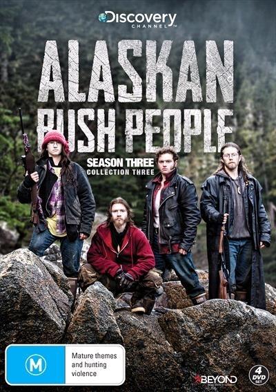 Alaskan Bush People - Season 3 (Collection 3) on DVD image