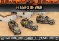 Flames of War: Fighting First - M4 81mm Armored Mortar Platoon (x3)