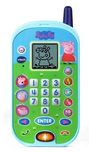 Vtech: Peppa Pig - Lets Chat Learning Phone image