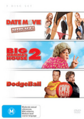 Date Movie / Big Momma's House 2 / DodgeBall (3 Disc Set) on DVD