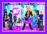 Barbie Classic 35 Piece Frame Tray Jigsaw Puzzle - Rock Star Barbie