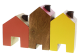 General Eclectic House Candle Holders - Bright