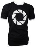 Portal Aperture Symbol T-Shirt (XX-Large)