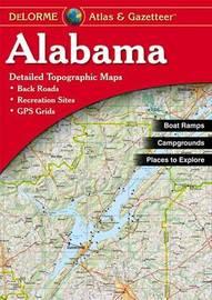 Alabama Atlas and Gazetteer by Rand McNally