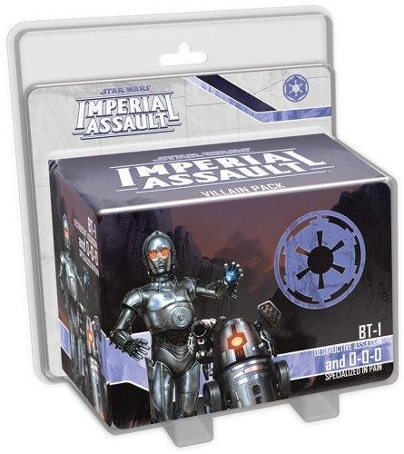 Star Wars: Imperial Assault: BT-1 and 0-0-0 - Villain Pack