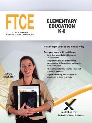 FTCE Elementary Education K-6 by Sharon A Wynne image