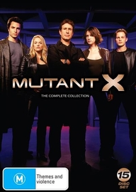 Mutant X Full Collection on DVD