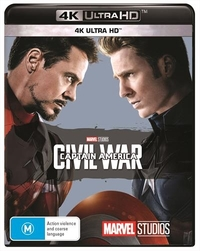 Captain America: Civil War on UHD Blu-ray