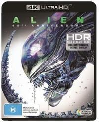 Alien on UHD Blu-ray