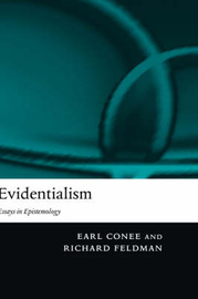 Evidentialism by Earl Conee image