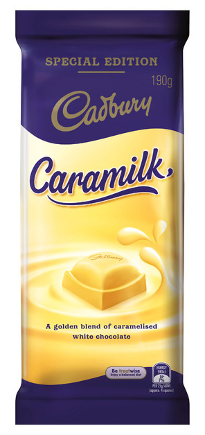 Cadbury: Caramilk Chocolate (190g)