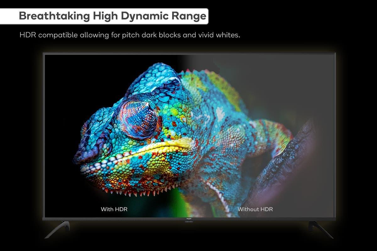 "Kogan 50"" 4K UHD HDR LED Smart Android TV image"