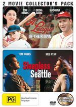 League Of Their Own, A / Sleepless In Seattle - 2 Movie Collector's Pack (2 Disc Set) on DVD