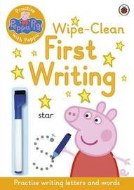 Peppa Pig: Practise with Peppa: Wipe-Clean First Writing by Peppa Pig image