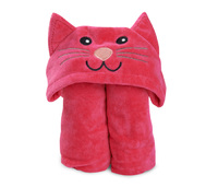 Kiddie Towels (Cerise Cat)