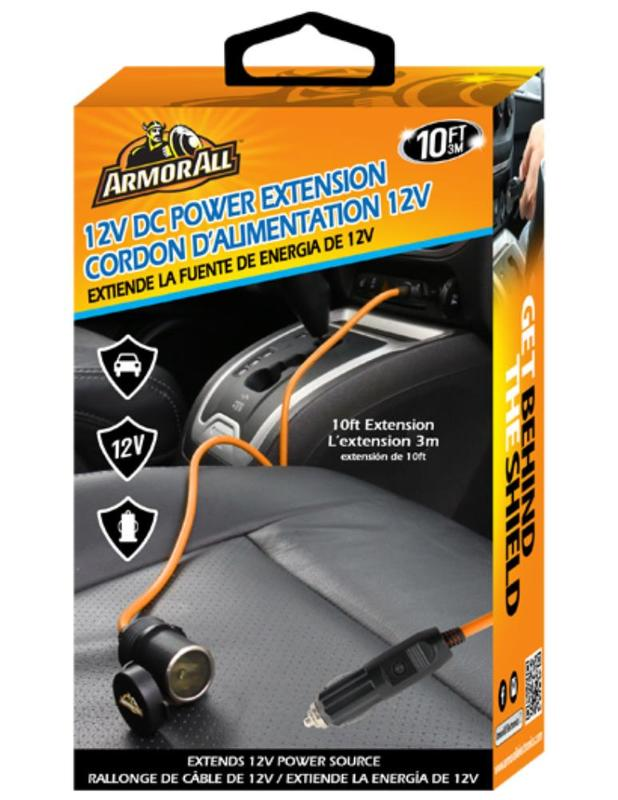 Armor All: 12V DC 3M Power Extension Cord