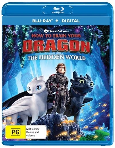 How To Train Your Dragon: The Hidden World on Blu-ray