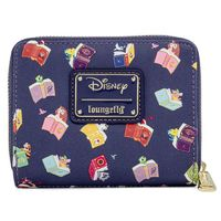 Loungefly: Disney Princess - Books AOP Zip Around Wallet