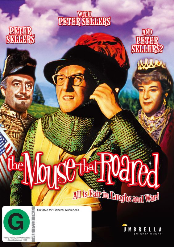 The Mouse That Roared on DVD
