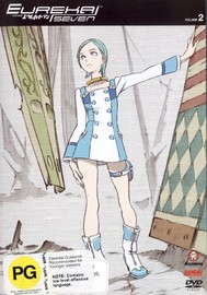 Eureka Seven - Vol 2 on DVD image