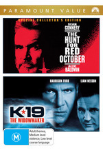 Hunt For Red October, The / K-19: The Widowmaker (Paramount Value) (2 Disc Set) on DVD