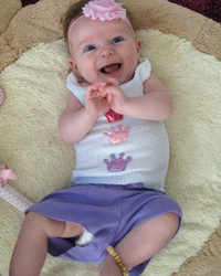 Bambeado: Baby Amber Anklet Bud - Mixed Colours