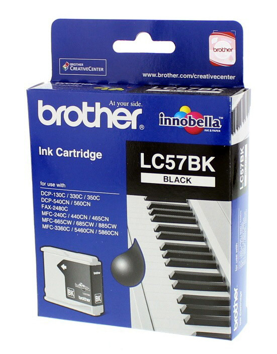 Brother LC57 Black Cartridge
