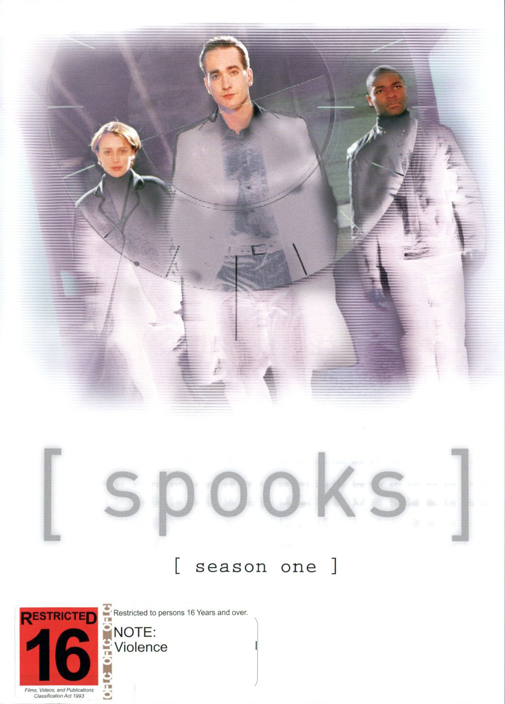 Spooks - Season 1 (3 Disc Set) on DVD image