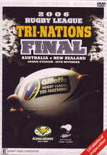 ARL - 2006 Rugby League Tri-Nations Final: Australia v New Zealand on DVD